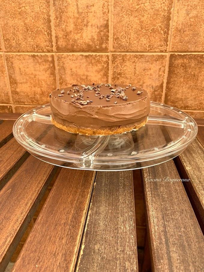 Tarta de chocolate y café (sin gluten y sin lácteos) para el 10º cumpleaños del blog