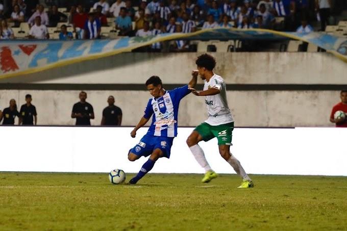 Paysandu sofre gol aos 49 minutos do segundo tempo e decisão do título da Copa Verde contra o Cuiabá vai para os pênaltis