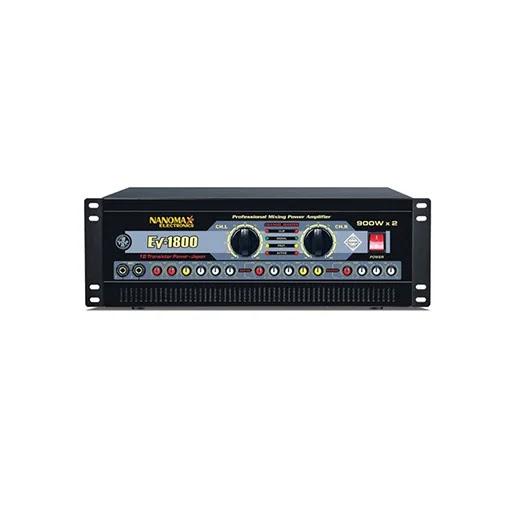 Amplifier sân khấu Nanomax EV-1800 (20 sò)
