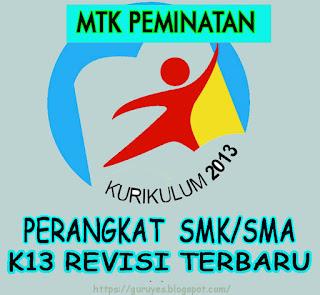 RPP K13 Matematika Peminatan  Kelas 12/XII  SMA/SMK Revisi 2018