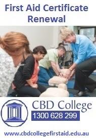 First Aid Renewal Certification Sydney