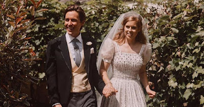 b3 - Princess Beatrice's new husband shares three new photographs from secret wedding ceremony