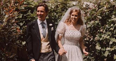 b3 - Princess Beatrice's new husband shares three new photographs from secret wedding ceremony