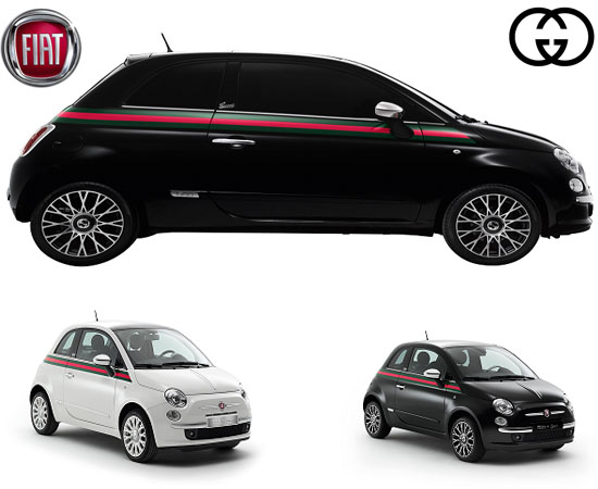 thegcodes the codes of living for guys and gals the gucci fiat 500 the compact lux auto. Black Bedroom Furniture Sets. Home Design Ideas