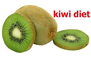 Weight loss 5 kilos per week by kiwi diet 1