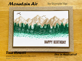 Mountain air card 1