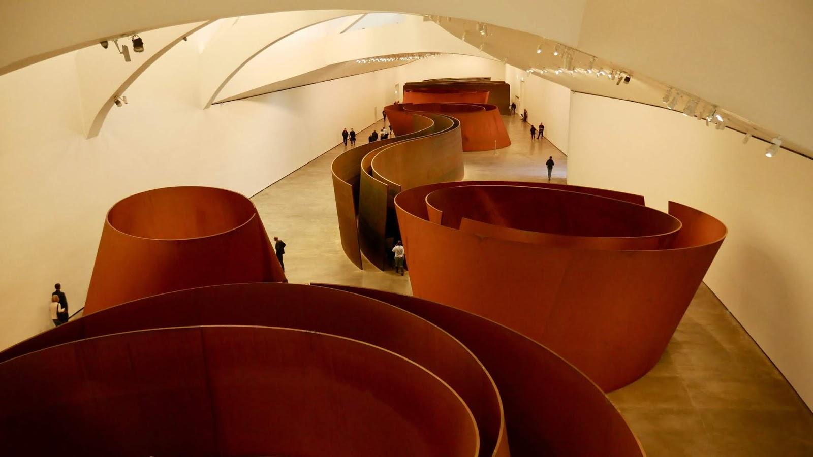 Richard Serra Musée Guggenheim Bilbao Pays Basque Espagne