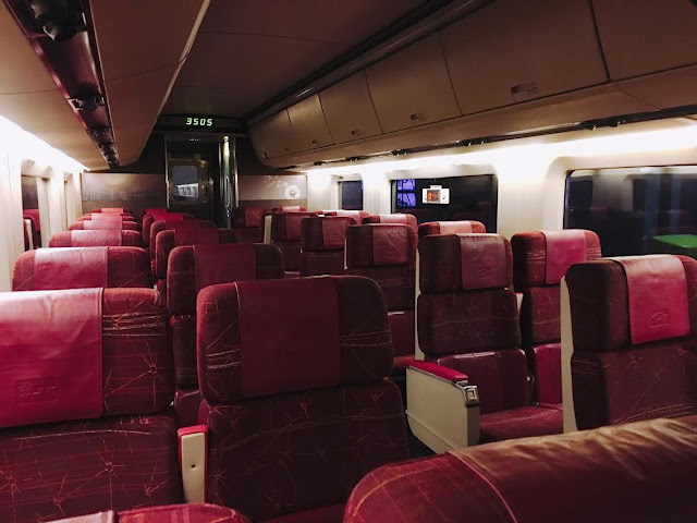 Via Rail Canada interior