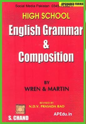 HIGH SCHOOL ENGLISH GRAMMAR AND COMPOSITION  WREN AND MARTIN