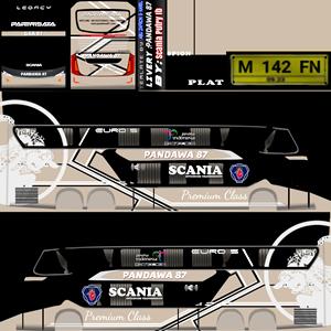 Livery Bussid Bimasena Pandawa 87 SDD