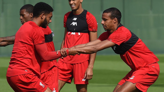 I didn't know Matip and Gomez never played together - Jürgen Klopp