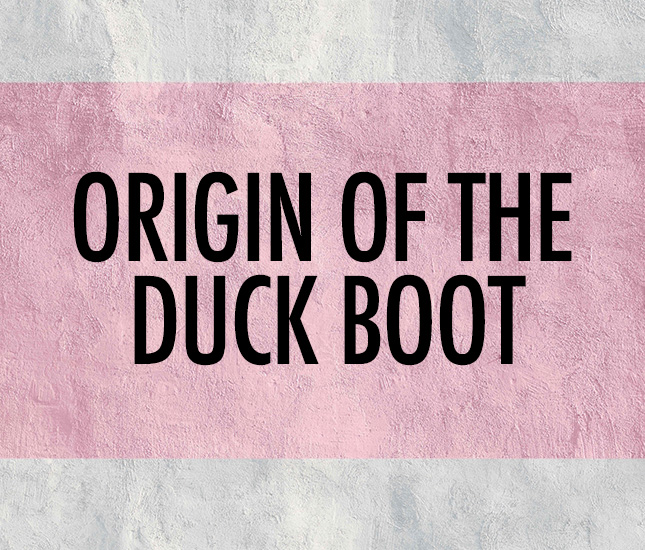 where marleylily's best selling duck boots began