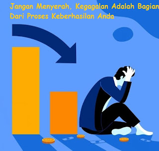 Jangan Menyerah, Kegagalan Adalah Bagian Dari Proses Keberhasilan Anda