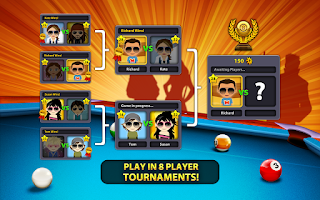 8 Ball Pool v3.8.4 MOD APK Unlimited Money and Coins Terbaru Gratis Download