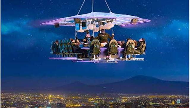 Ereván tendrá un restaurante para cenar en el cielo