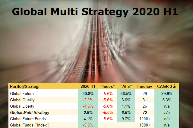Global Multi Strategy - Halvårsrapport 2020