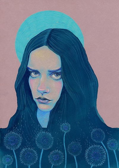 """Dandelion"" por Natalie Foss 