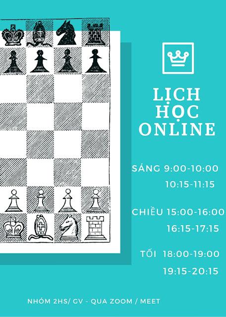 Dạy cờ vua chess online