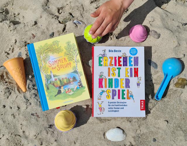 Für mehr Leichtigkeit im Familienleben! Zwei Buchtipps für Kinder und Eltern: Ein Kinderbuch und ein Erziehungsratgeber stelle ich Euch als Buchtandem vor.