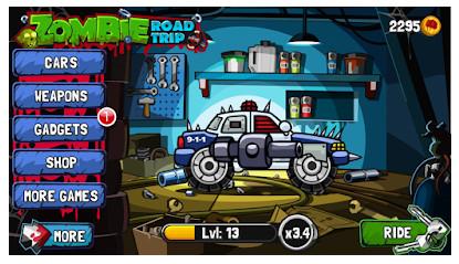 لعبة Zombie Road Trip مهكرة للأندرويد - رابط تحميل مباشر