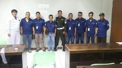 koordinasi keamanan jemputan karyawan pabrik di kawasan Bekasi 1