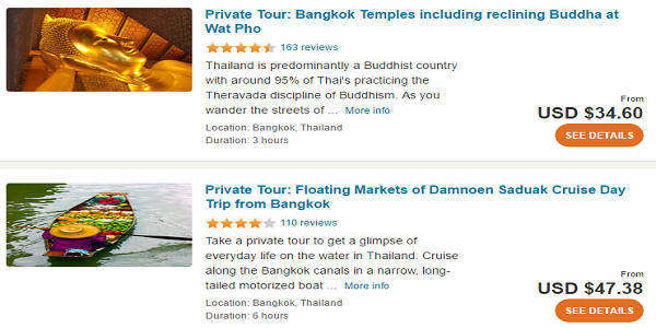 Cheap Thailand Holiday Packages