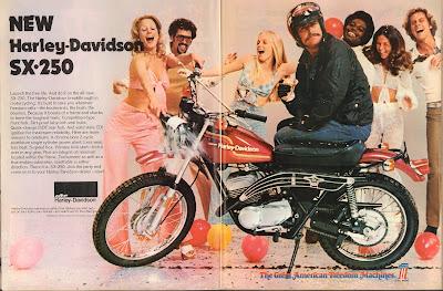 Harley-Davidson SX-250