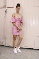 Disha Patani Looks stunning in Small Short Pink Dress @ The Promotions Of Baaghi 2 ~  Exclusive Galleries 006.jpg