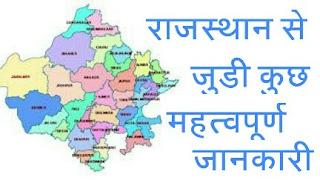 राजस्थान के जिलो के नाम