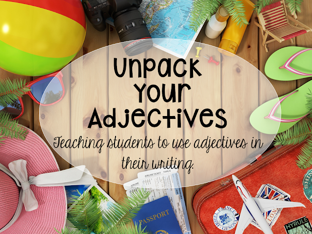 teaching students to use adjectives in their writing