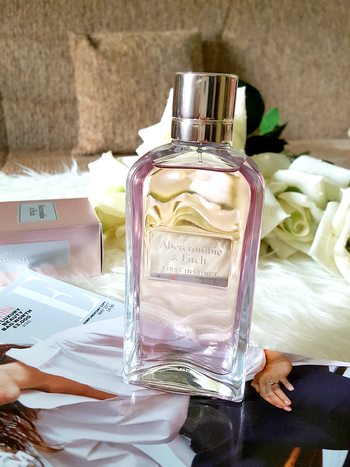 Review: Abercrombie & Fitch First Instinct Woman Eau de Parfum - Sommer Duft 2017 - Madame Keke