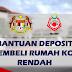 Bantuan Deposit Membeli Rumah Kos Rendah - MAIWP