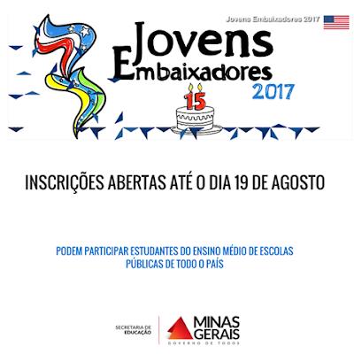 Programa de intercâmbio Jovens Embaixadores