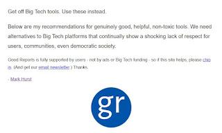 Non-toxic social network alternatives to Facebook