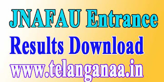 JNAFAU 2016 Entrance Exam Results Download