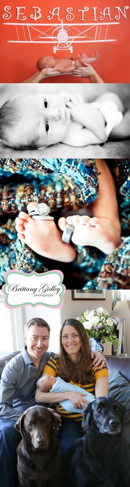 Introducing Sebastian | Ohio Newborn Photography