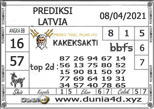 Prediksi Togel LATVIA DUNIA4D 08 APRIL  2021