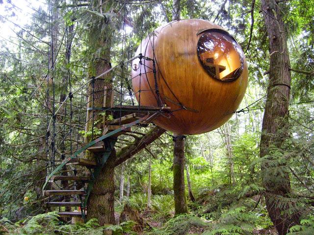 Free Spirit Spheres, Canada
