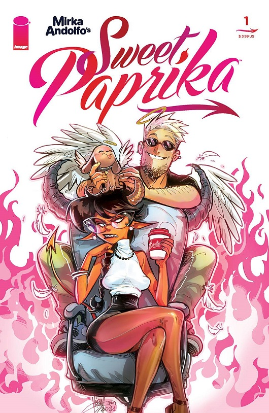 Mirka Andolfo: Sweet Paprika #1