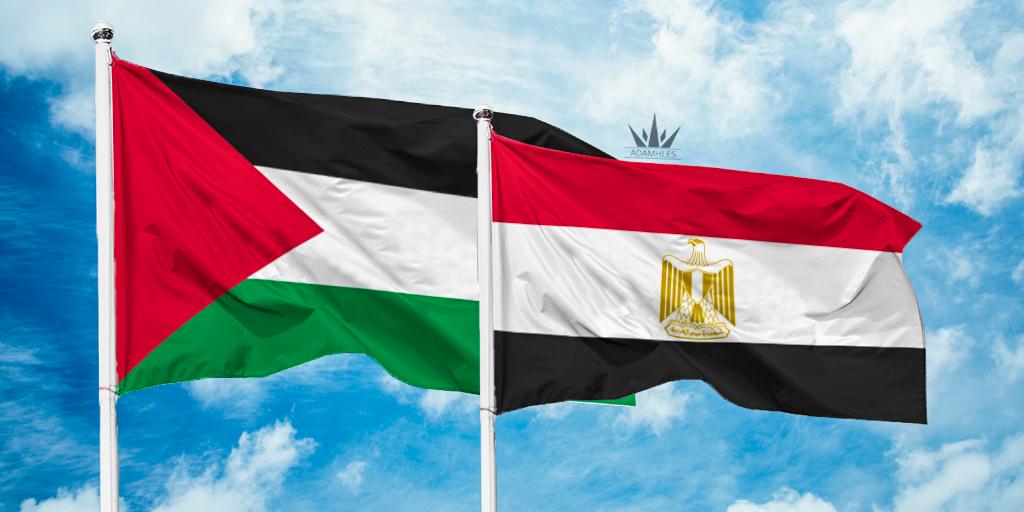اروع خلفية علم فلسطين مع مصر صور تجمع فلسطين ومصر