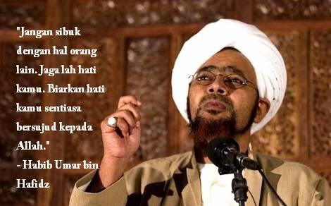 50 Kata Mutiara Habib Umar Bin Hafidz Paling Inspiratif