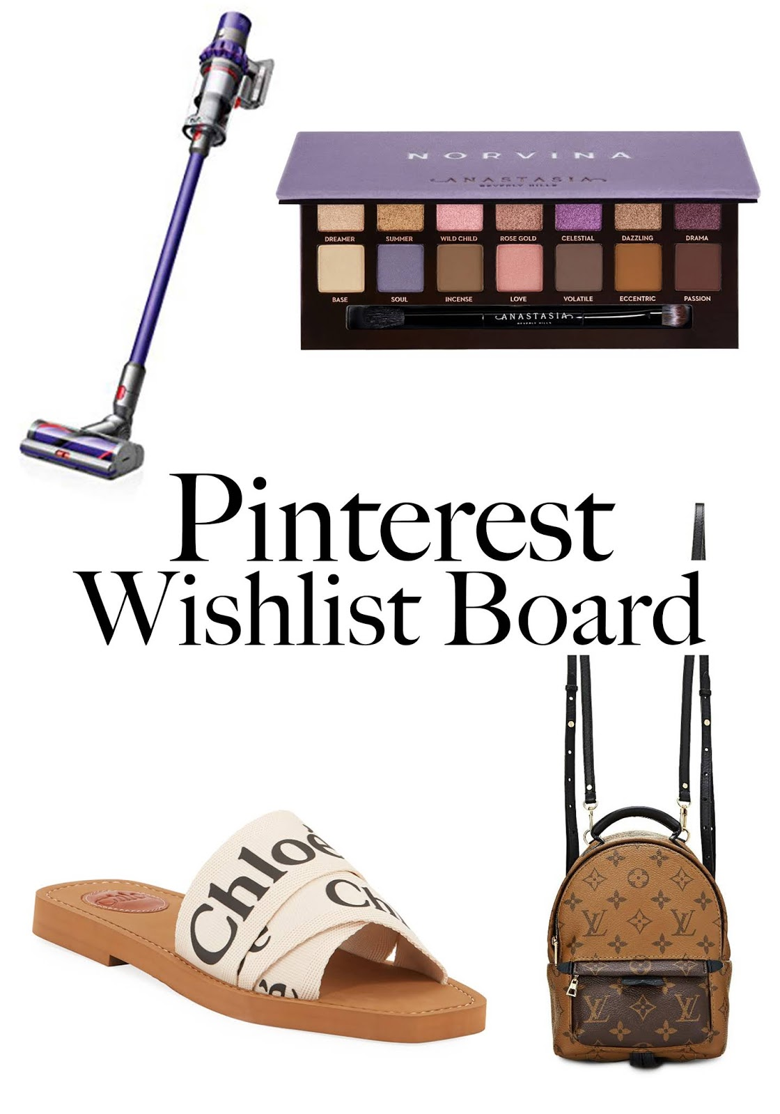 Update: Pinterest Wishlist Board