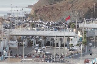 المغرب، إسبانيا، التهريب، إغلاق معبري سبتة ومليلية، حربوشة نيوز