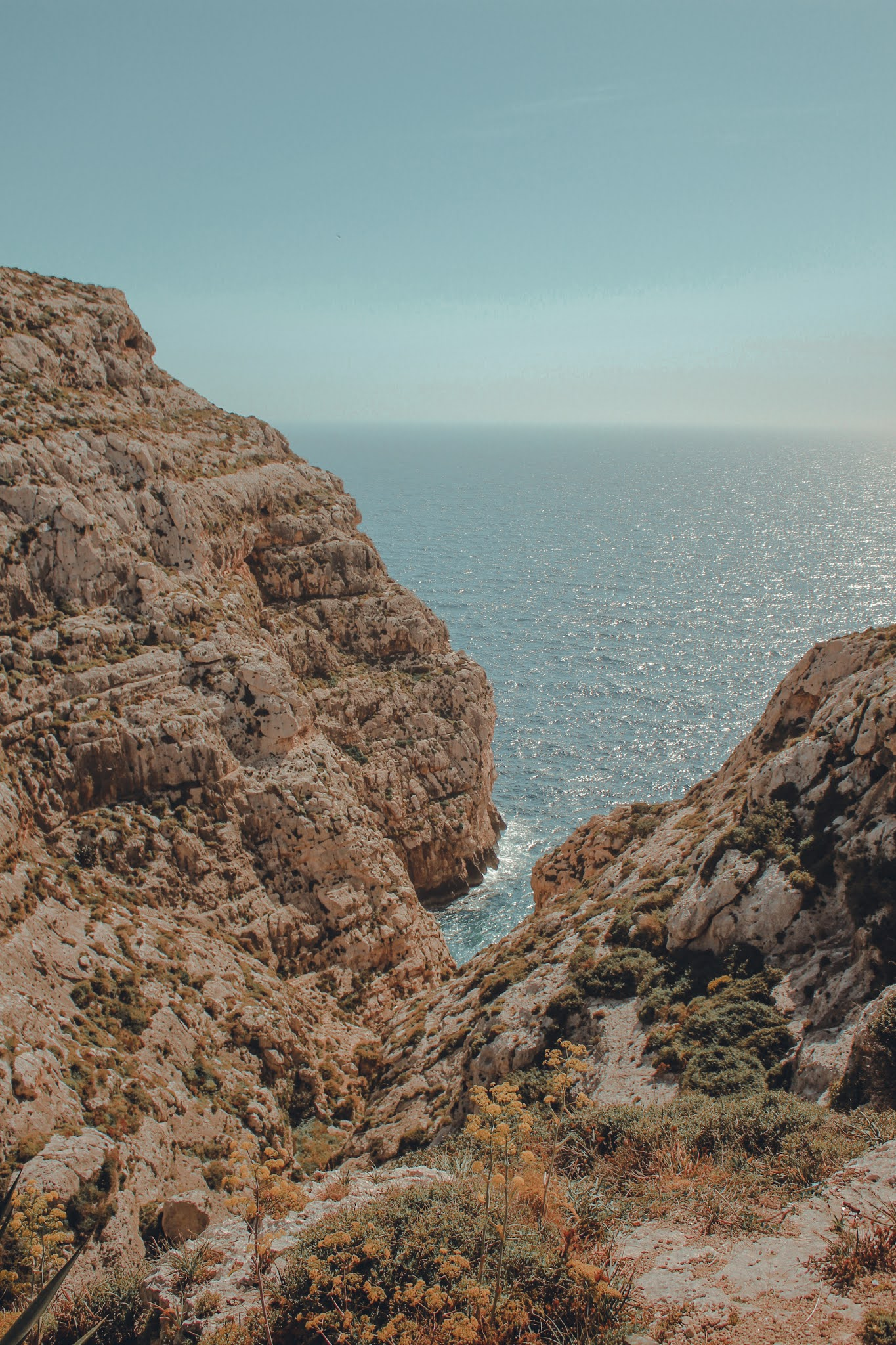 Blaue Grotte Aussichtspunkt Malta