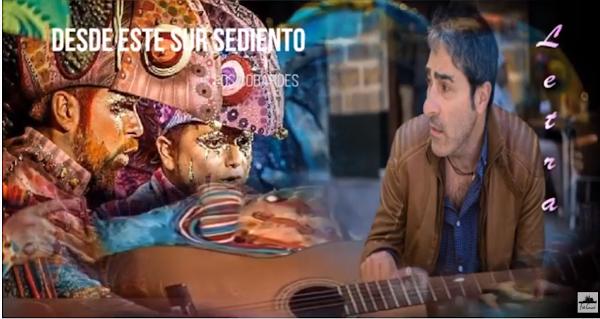 """🥛Pasodoble """"Desde este sur sediento"""". Comparsa 🦎""""Los Cobardes"""" (2016) con 🖍Letra"""