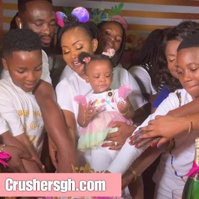 Must Watch: Luxury Birthday Celebration Of Nana Ama McBrown's Daughter Baby Maxin In Kumasi – VIDEO