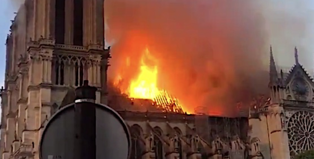 Scorched Notre Dame to become 'multicultural' utopia?
