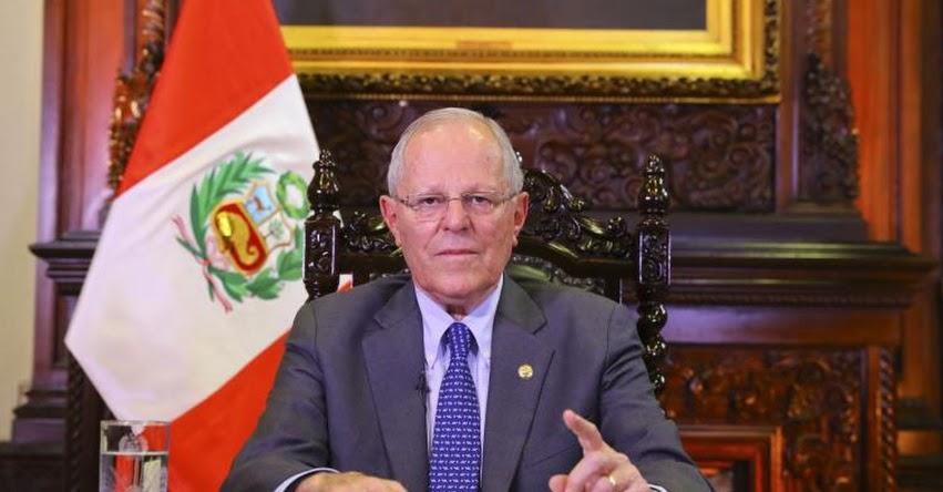 Presidente Kuczynski reitera respaldo a ministros Fernando Zavala y Marilú Martens