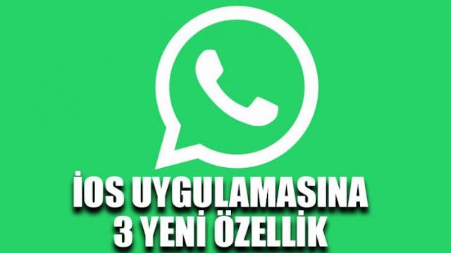 Whatsapp Yeni iOS Ozellikleri