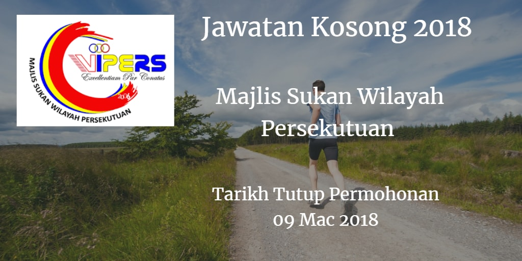 Jawatan Kosong WIPERS 09 Mac 2018